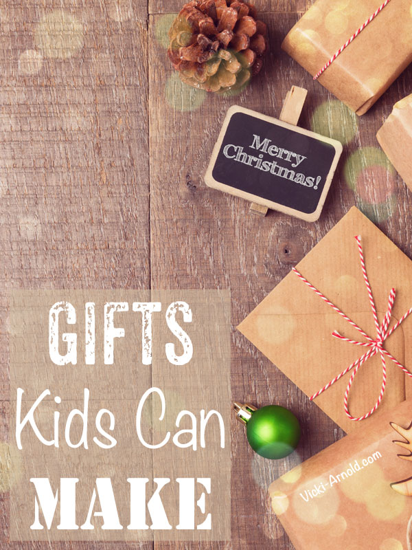 Gifts Kids Can Make - A great list of ideas for kids!