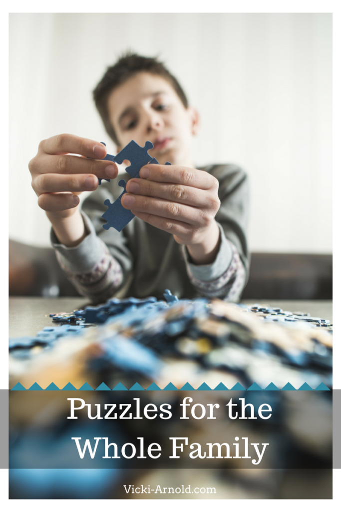 Puzzles - A great family tradition to start today.