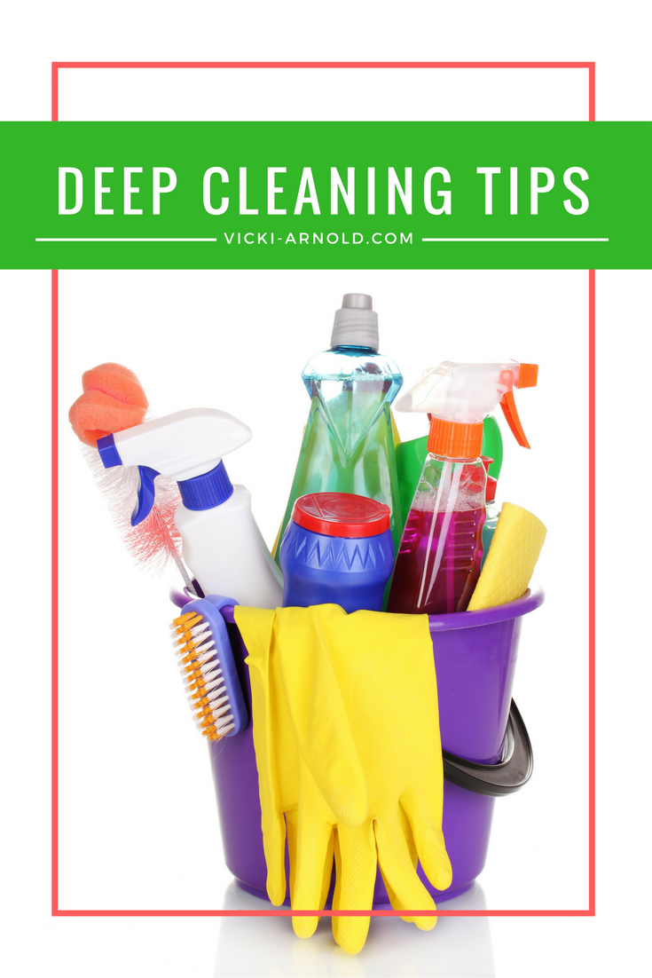 Tips for Deep Cleaning Your House...from an imperfect mom.