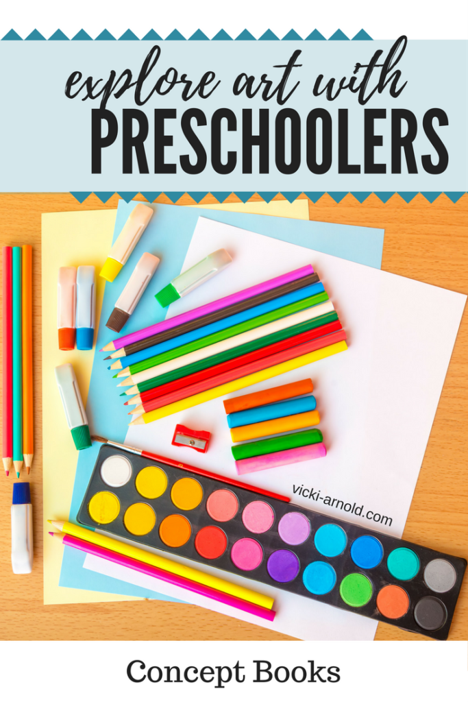 Exploring art with preschoolers - concept books