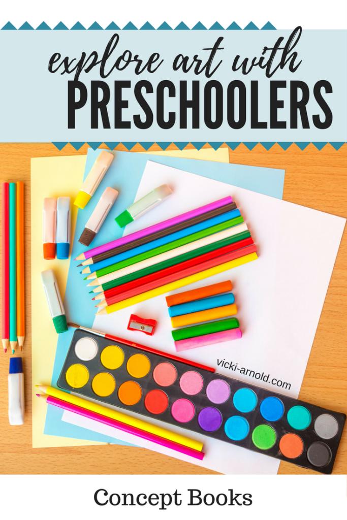 Exploring art with preschoolers - concept books